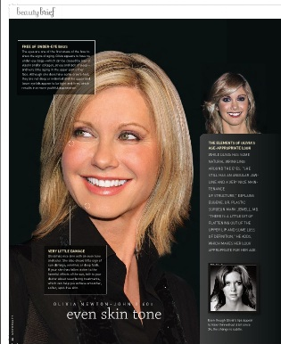 Olivia Newton John New Beauty Loss of Definition