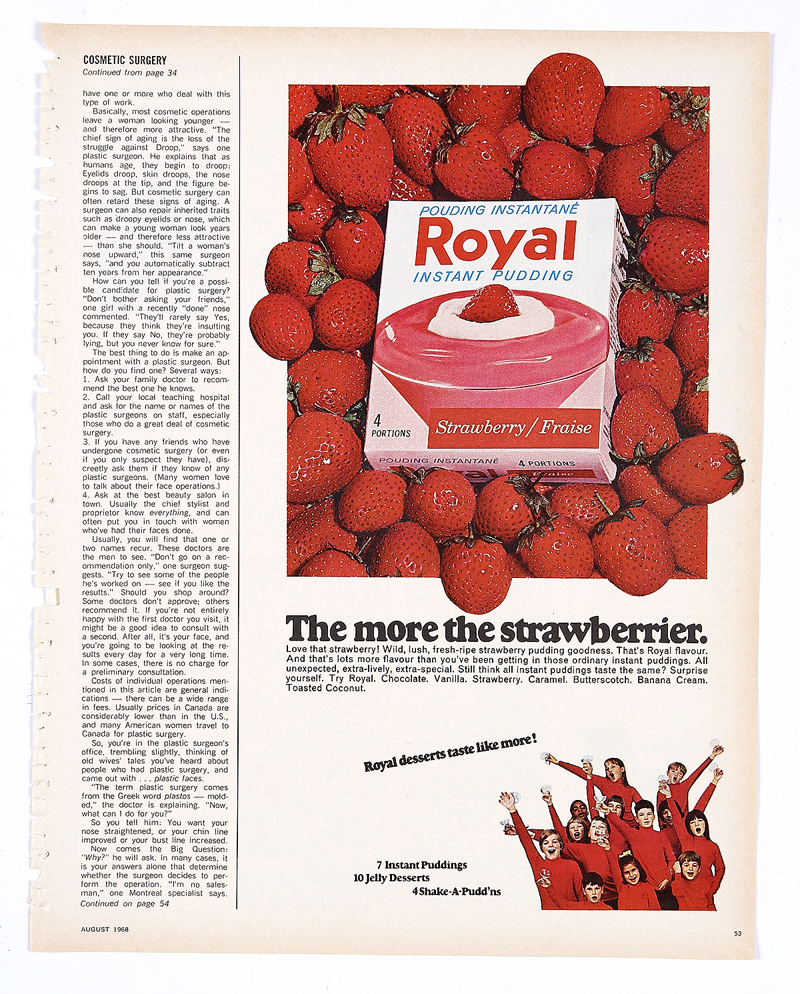 Chatelaine page 2 - Royal Instant Pudding